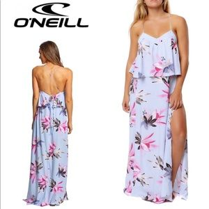O'NEILL Milly maxi dress. NWT